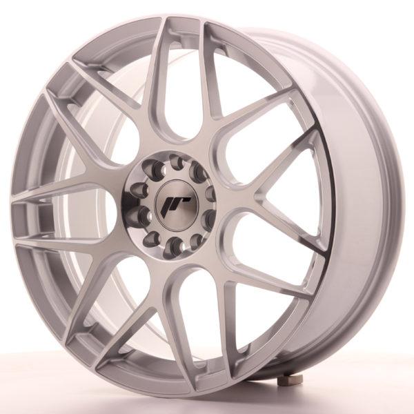 JR Wheels JR18 18x7,5 ET40 5x100/120 Silver Machined Face