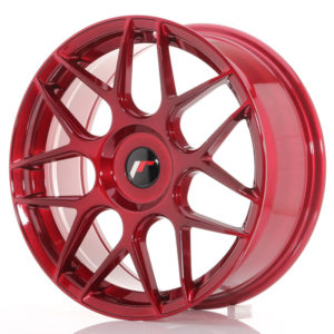 JR Wheels JR18 18x7,5 ET25-40 BLANK Platinum Red