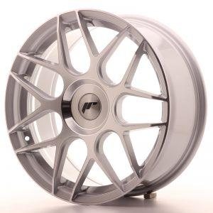 JR Wheels JR18 18x7,5 ET35-40 BLANK Silver Machined Face
