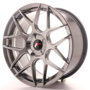 JR Wheels JR18 18x8,5 ET45 5H BLANK Hyper Black