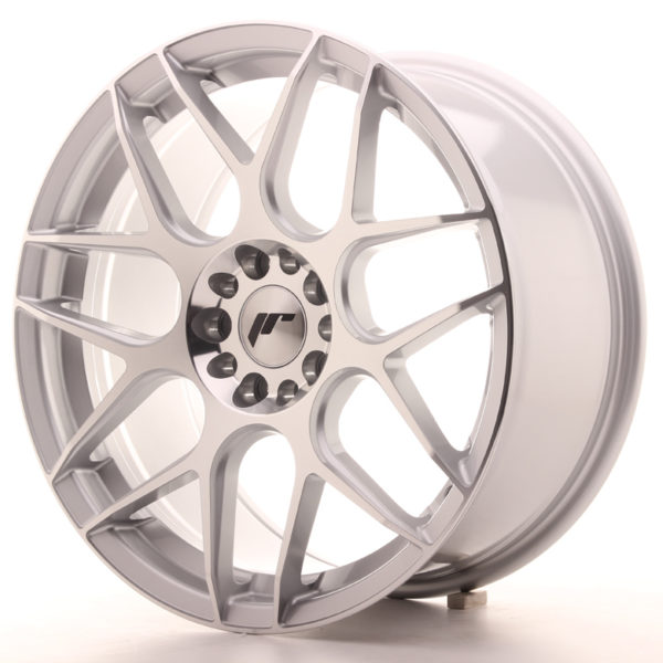 JR Wheels JR18 18x8,5 ET40 5x112/114 Silver Machined Face