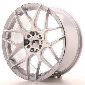 JR Wheels JR18 18x8,5 ET35 5x100/120 Silver Machined Face