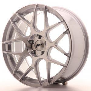 JR Wheels JR18 19x8,5 ET35 5x112 Silver Machined Face