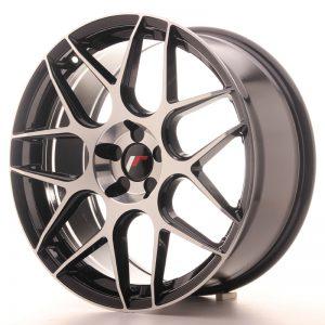 JR Wheels JR18 19x8,5 ET20-42 5H BLANK Gloss Black Machined Face