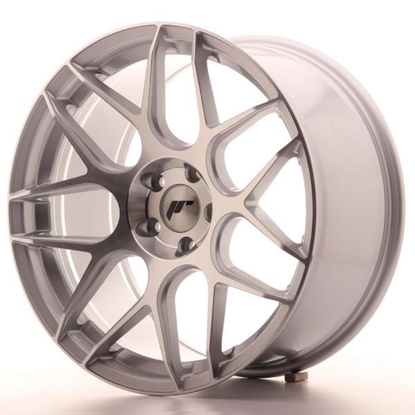JR Wheels JR18 19x9,5 ET35 5x120 Silver Machined Face