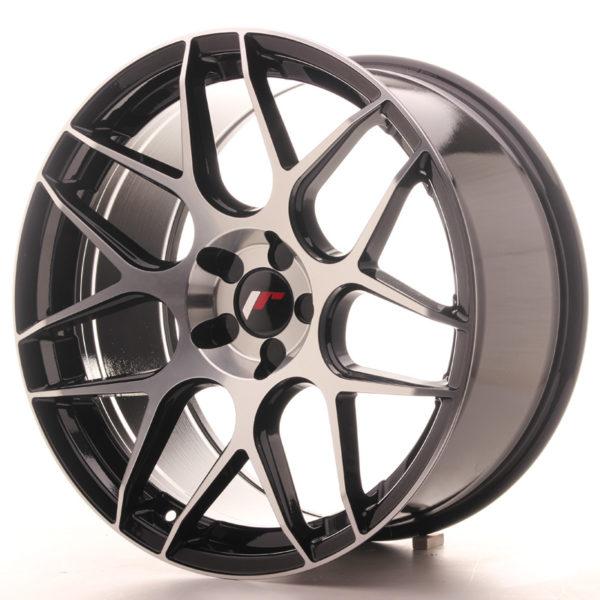 JR Wheels JR18 19x9,5 ET35 5H BLANK Gloss Black Machined Face