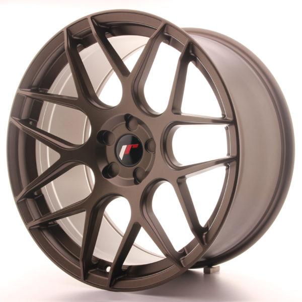 JR Wheels JR18 20x10 ET20-45 5H BLANK Matt Bronze