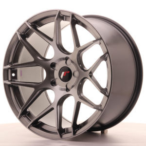 JR Wheels JR18 20x11 ET20-32 5H BLANK Hyper Black