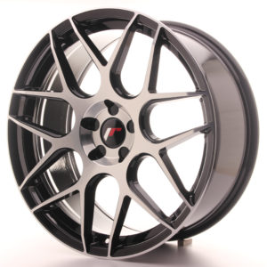 JR Wheels JR18 20x8,5 ET20-40 5H BLANK Gloss Black Machined Face