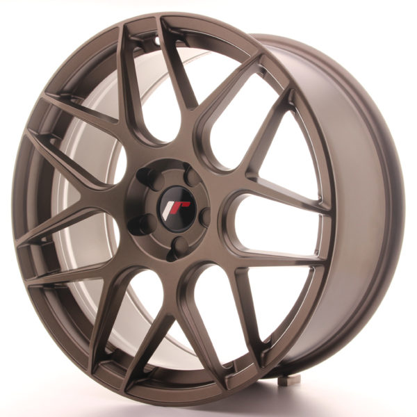 JR Wheels JR18 20x8,5 ET20-40 5H BLANK Matt Bronze
