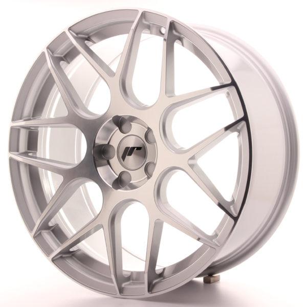 JR Wheels JR18 20x8,5 ET20-40 5H BLANK Silver Machined Face