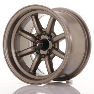 JR Wheels JR19 14x8 ET-13 4x100/114 Matt Bronze