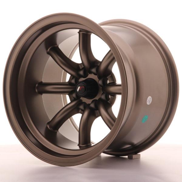 JR Wheels JR19 15x10,5 ET-32 4x100/114 Matt Bronze