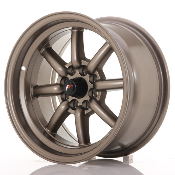 JR Wheels JR19 15x8 ET0 4x100/114 Matt Bronze