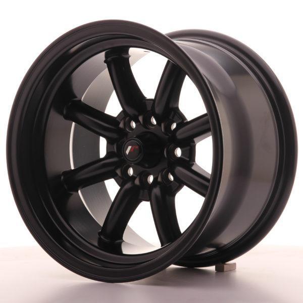JR Wheels JR19 15x9 ET-13 4x100/114 Matt Black