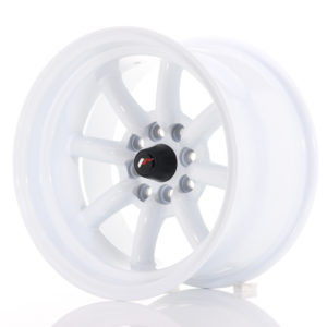 JR Wheels JR19 15x9 ET-13 4x100/114 White