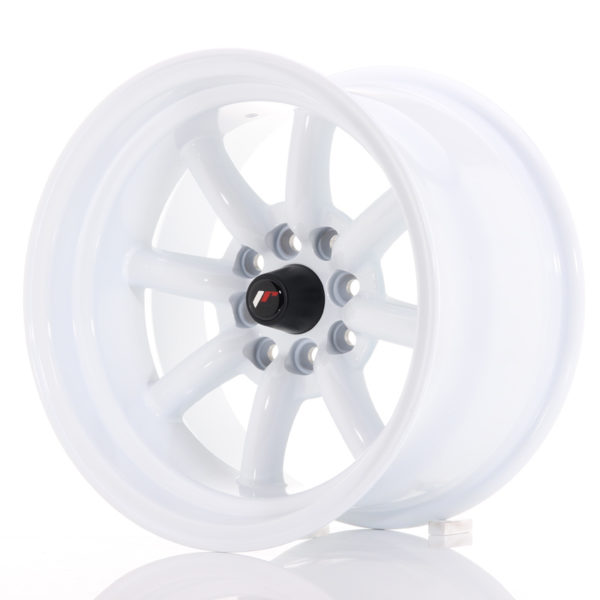 JR Wheels JR19 15x9 ET-13 4x100/114 White