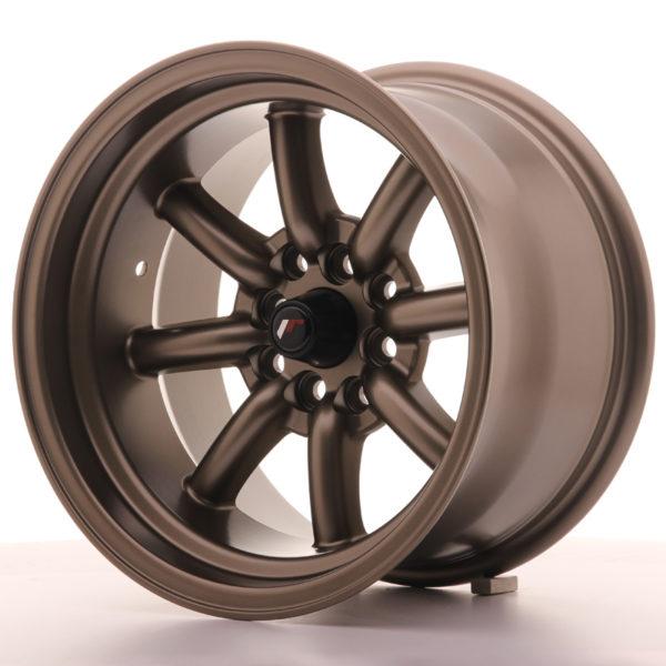 JR Wheels JR19 15x9 ET-13 4x100/108 Matt Bronze