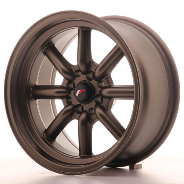 JR Wheels JR19 16x8 ET0 4x100/114 Matt Bronze