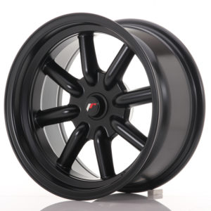 JR Wheels JR19 16x8 ET-20-0 BLANK Matt Black