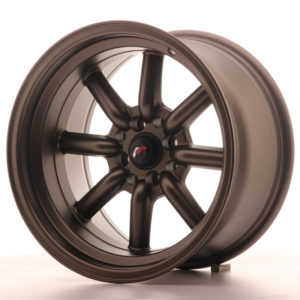 JR Wheels JR19 16x9 ET-15 4x100/114 Matt Bronze
