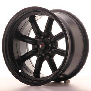 JR Wheels JR19 16x9 ET-15 4x100/114 Matt Black