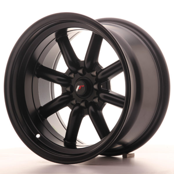 JR Wheels JR19 16x9 ET-15 4x100/114 Matt Black
