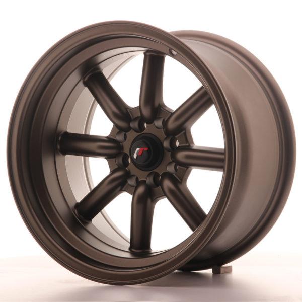 JR Wheels JR19 16x9 ET-25 4x100/114 Matt Bronze
