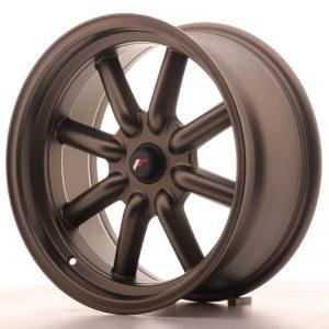 JR Wheels JR19 17x8 ET-20-0 BLANK Matt Bronze