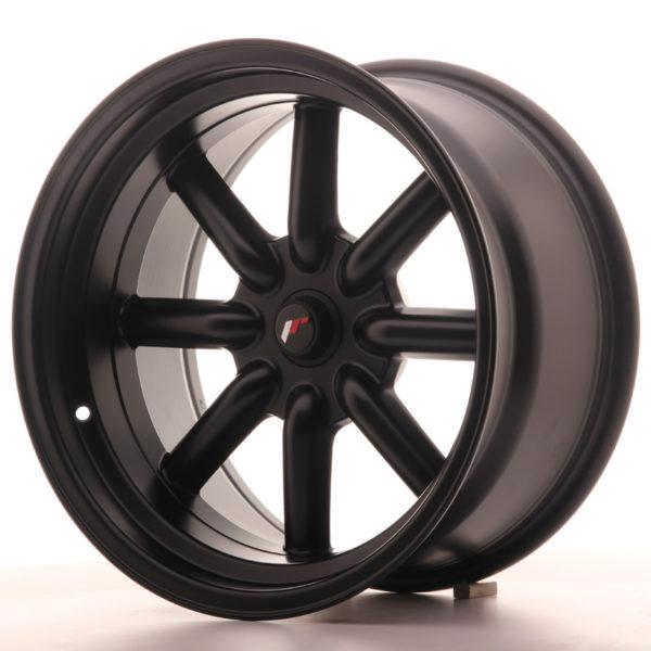 JR Wheels JR19 17x9 ET-25-(-10) BLANK Matt Black