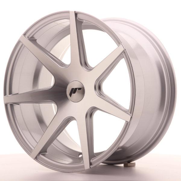 JR Wheels JR20 18x9,5 ET20-40 BLANK Silver Machined Face