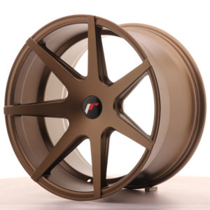 JR Wheels JR20 19x11 ET25-40 5H BLANK Matt Bronze