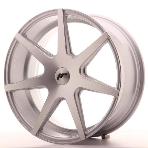 JR Wheels JR20 19x8,5 ET20-40 BLANK Silver Machined Face