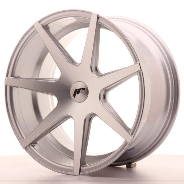 JR Wheels JR20 19x9,5 ET35-40 BLANK Silver Machined Face
