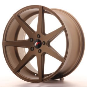 JR Wheels JR20 20x10 ET40 5x112 Matt Bronze