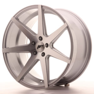 JR Wheels JR20 20x10 ET40 5x112 Silver Machined Face