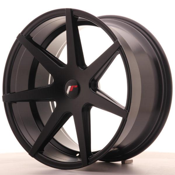 JR Wheels JR20 20x10 ET20-40 5H BLANK Matt Black