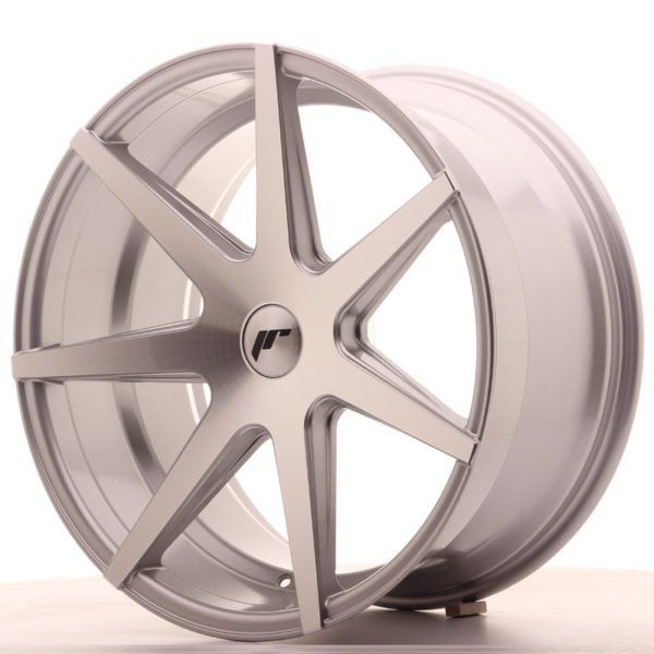 JR Wheels JR20 20x10 ET20-40 5H BLANK Silver Machined Face
