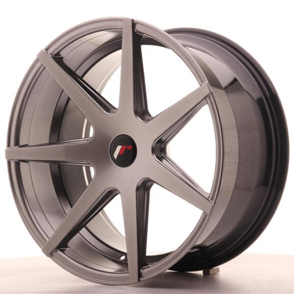 JR Wheels JR20 20x10 ET40 5H BLANK Hyper Black