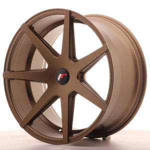JR Wheels JR20 20x10 ET40 5H BLANK Matt Bronze