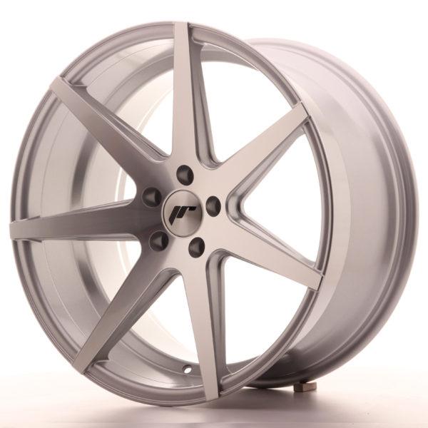 JR Wheels JR20 20x11 ET30 5x112 Silver Machined Face