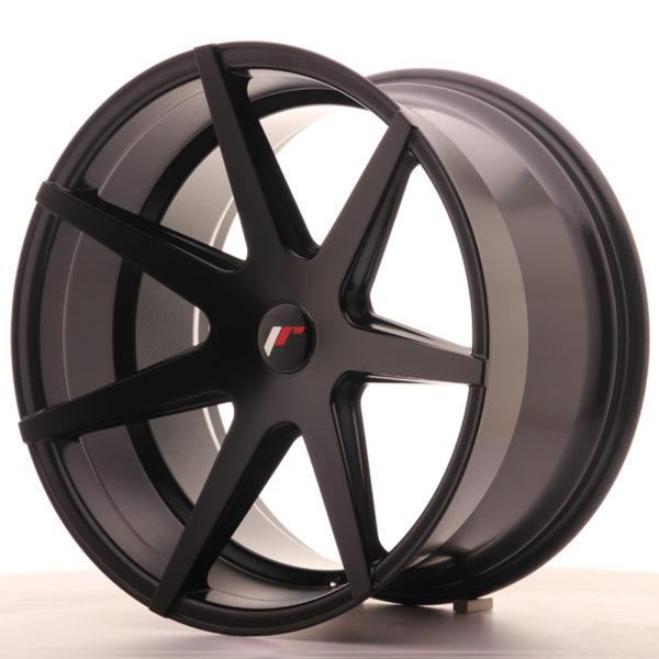 JR Wheels JR20 20x11 ET20-30 5H BLANK Matt Black