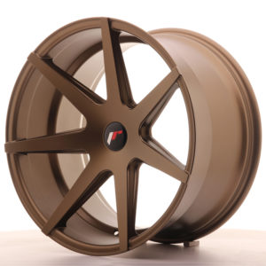 JR Wheels JR20 20x11 ET20-30 5H BLANK Matt Bronze