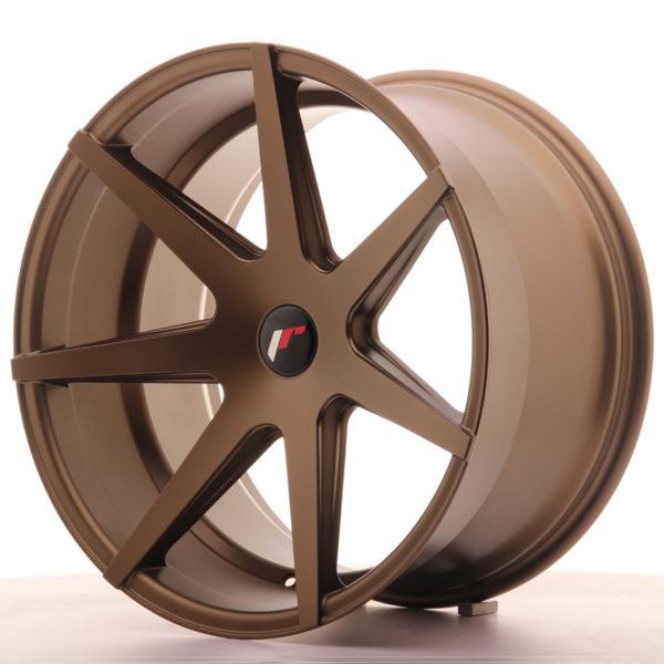 JR Wheels JR20 20x11 ET20-30 5H BLANK Matt Bronze