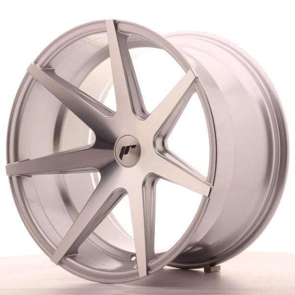 JR Wheels JR20 20x11 ET20-30 5H BLANK Silver Machined Face
