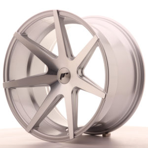 JR Wheels JR20 20x11 ET30 5H BLANK Silver Machined Face