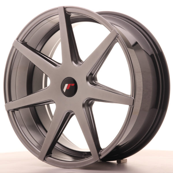 JR Wheels JR20 20x8,5 ET20-40 5H BLANK Hyper Black