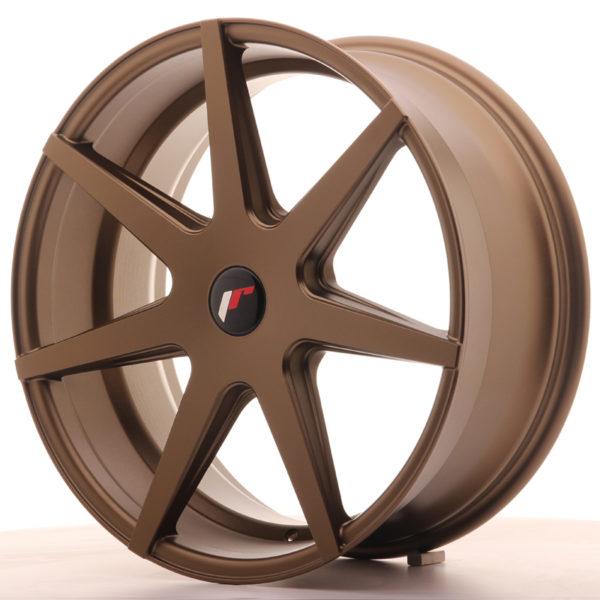 JR Wheels JR20 20x8,5 ET20-40 5H BLANK Matt Bronze