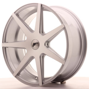 JR Wheels JR20 20x8,5 ET20-40 5H BLANK Silver Machined Face