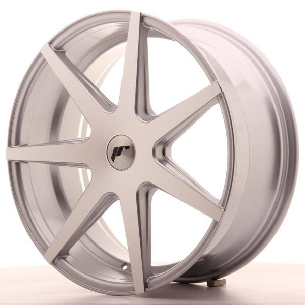 JR Wheels JR20 20x8,5 ET40 5H BLANK Silver Machined Face